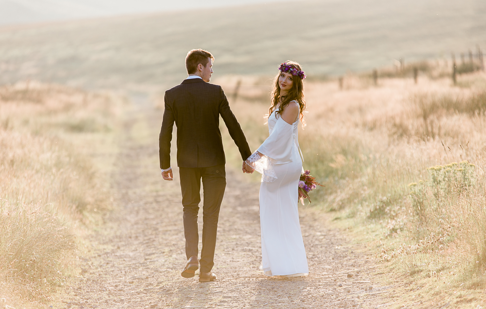 Wedding Photography Saddleworth Moor, Huddersfield