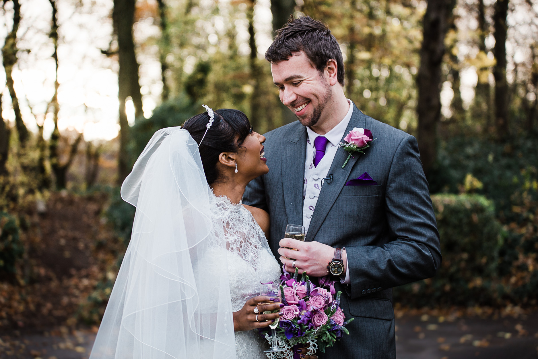 Roona and Karl, The Woodlands Hotel